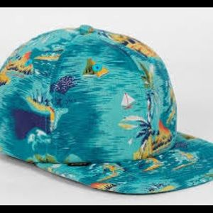 """Urban Outfitters Accessories - Obey """"Baltimore Island"""" tropical themed hat"""
